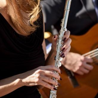 Alex Mack guitar; Laura Strickland flute; SoSco Duo Phoenix