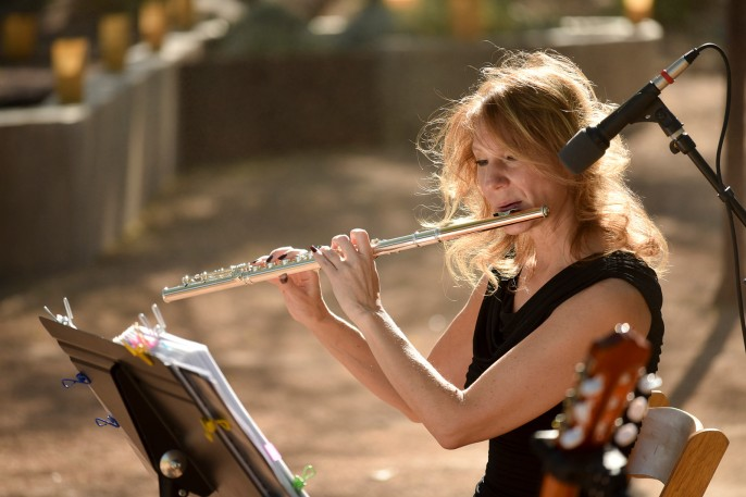 Laura SoSco flute live music wedding