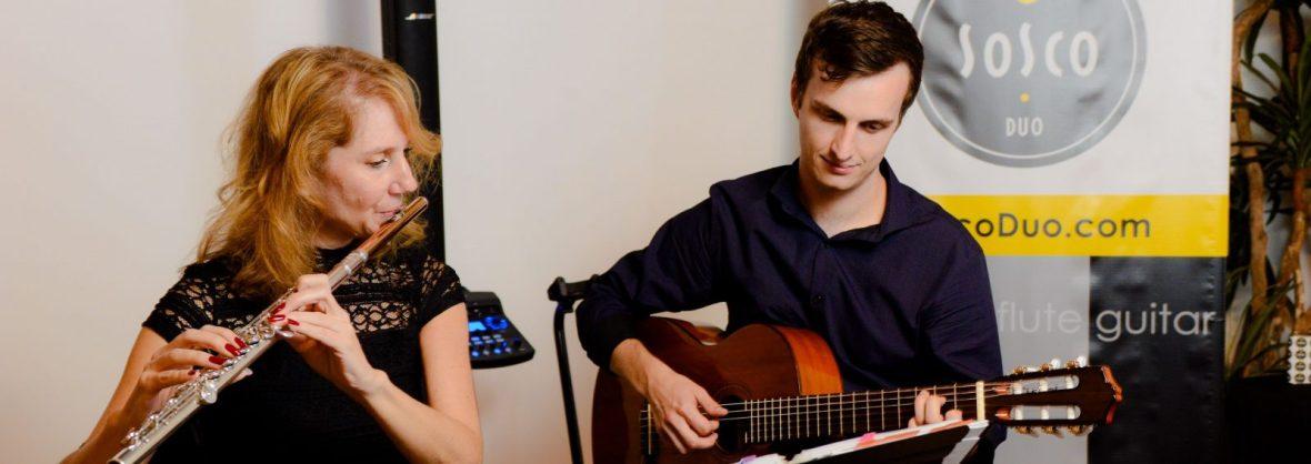 Flute Guitar hire wedding musicians Phoenix