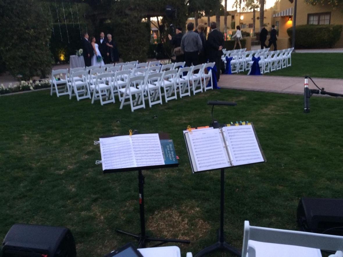 outdoor wedding music Phoenix