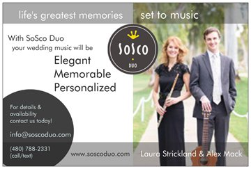 wedding ceremony musicians Phoenix