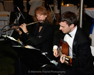 Live musicians at wedding at WigWam Resort, Litchfield Park, AZ
