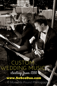 Custom wedding music phoneix