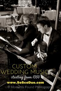 Custom wedding music phoneix