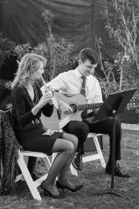 Flute & guitar music for oudoor wedding in Phoenix Phoenix