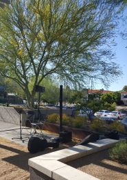 live musicians outdoor corporate event Scottsdale