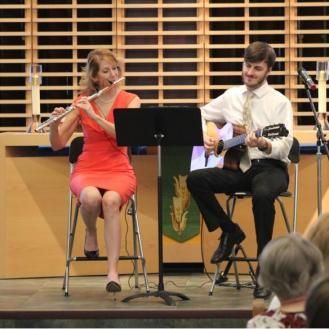 Lord of Life Lutheran Church Sun City flute guitar Concert